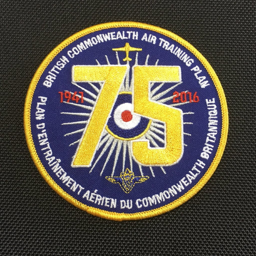 British Commonwealth Air Training Plan 75th Anniversary Crest
