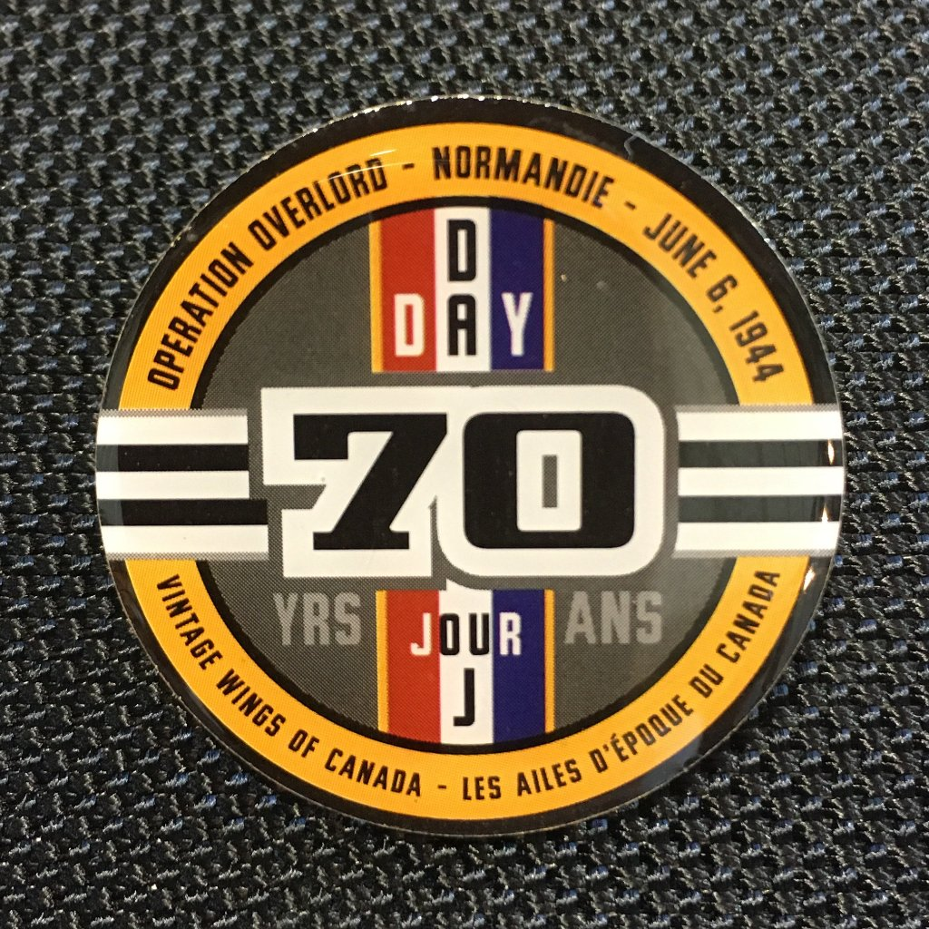 D-Day 70th Anniversary Pin