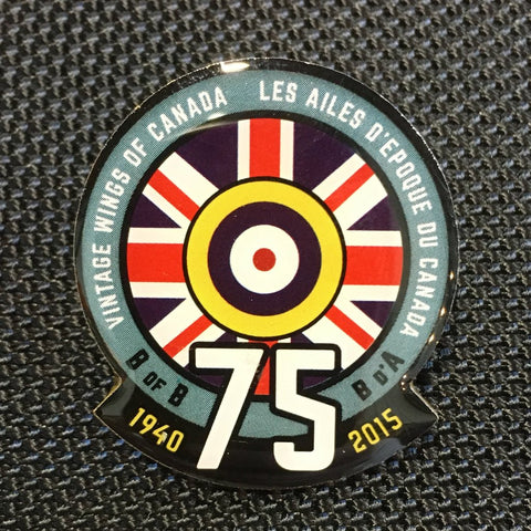 Battle of Britain 75th Anniversary Pin