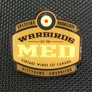 Warbirds of the Med Pin