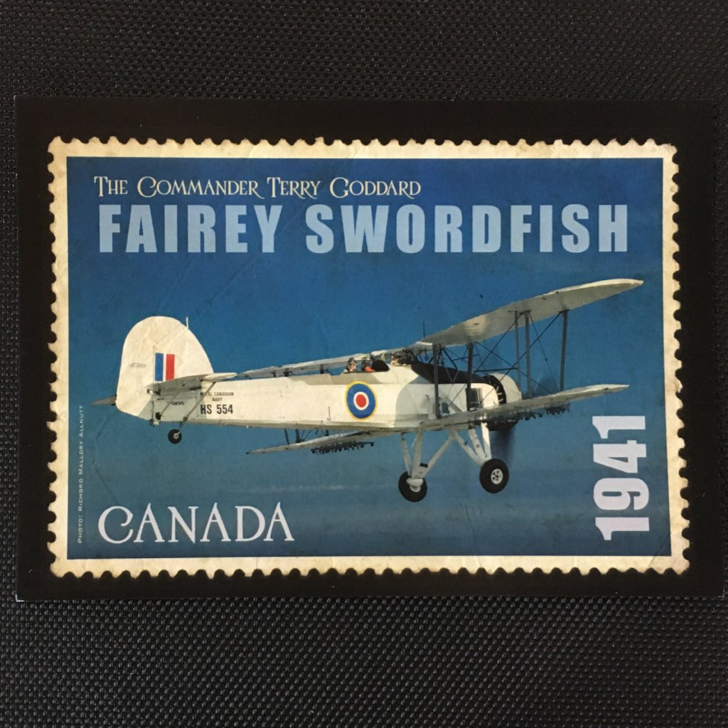 Fairey Swordfish Postcard
