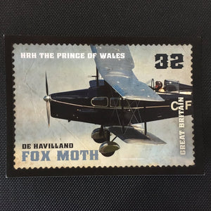 De Havilland Fox Moth Postcard
