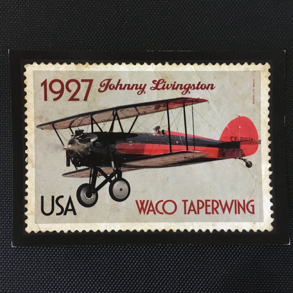 Waco Taperwing Postcard