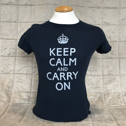"Ladie's ""Keep Calm and Carry On"" T-Shirt"