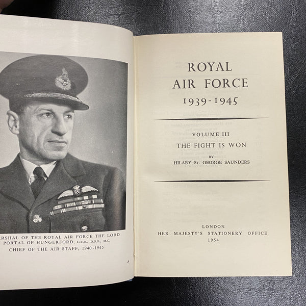 Royal Air Force 1939-1945 Volume III by Hilary St. G. Saunders