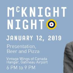 McKnight Presentation and Beer Call - Jan. 12