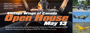 Vintage Wings Open House - May 13