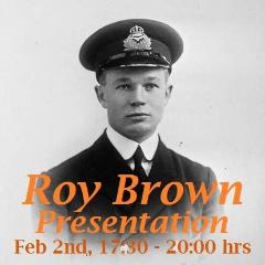 Roy Brown Presentation and Beer Call - Feb. 2