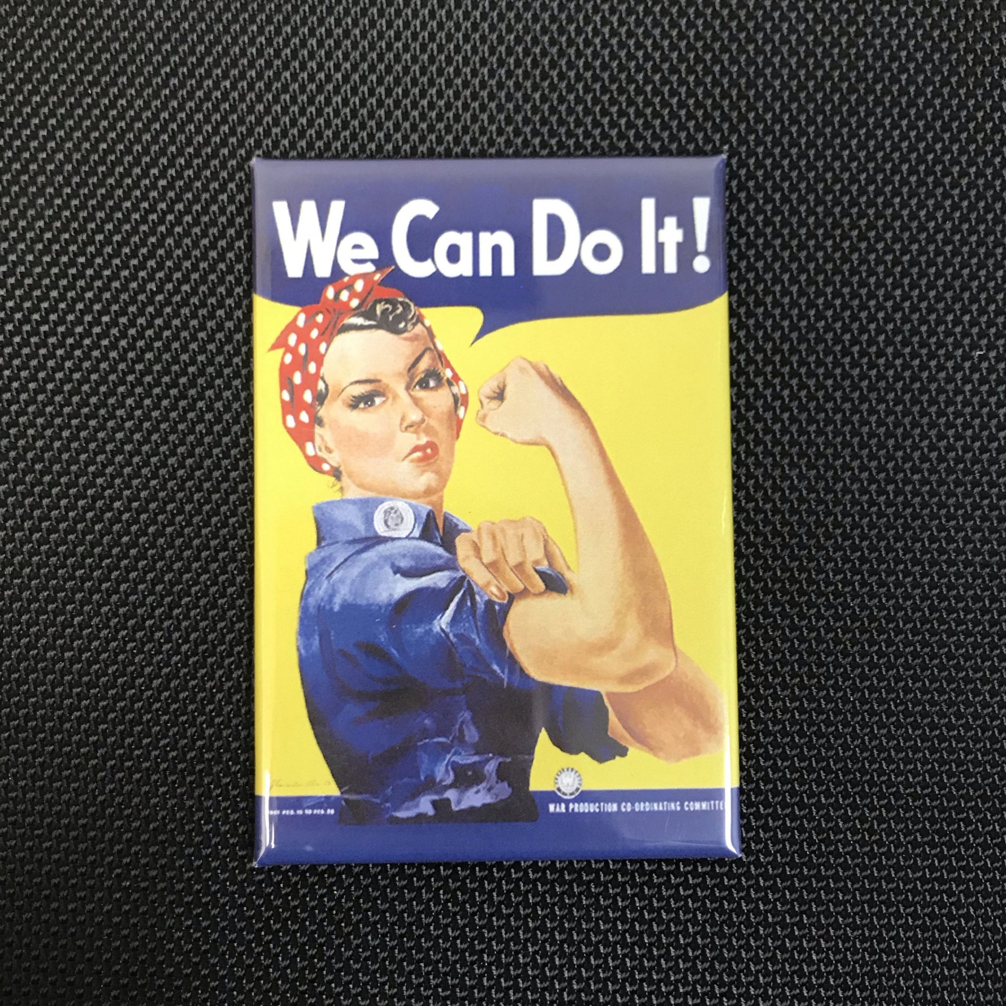 Rosie The Riveter Poster Magnet