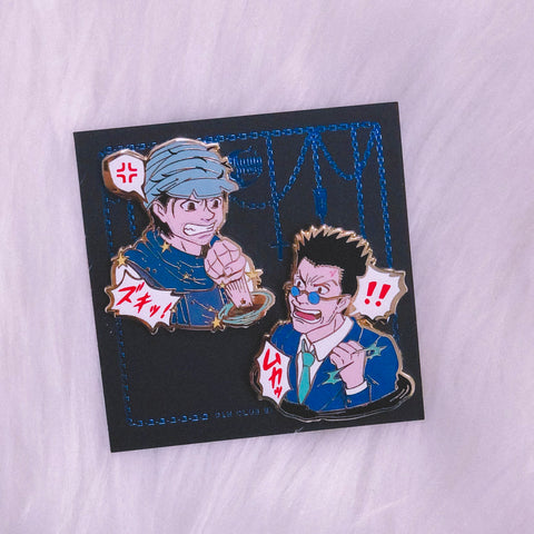 Ging & Leorio Pins