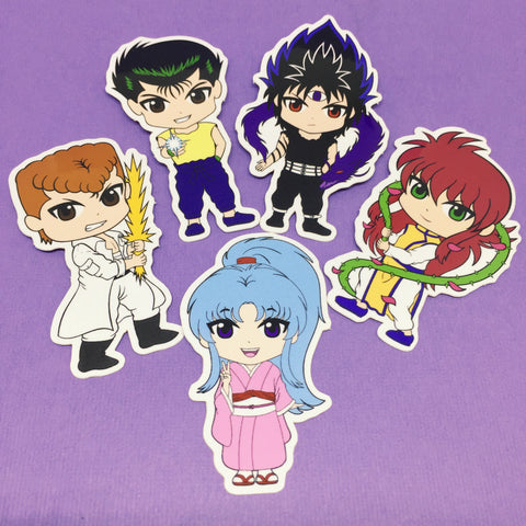 Chibi YYH Stickers