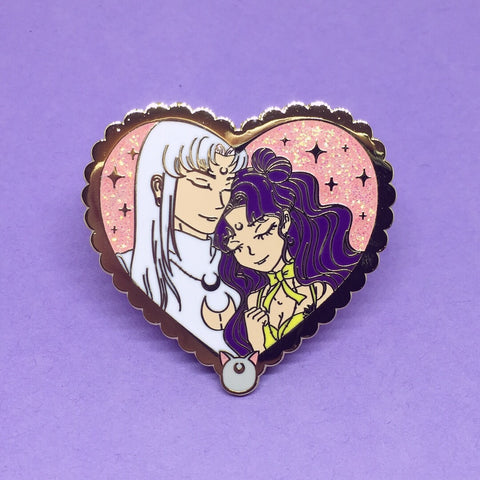 Moon Lovers Pin