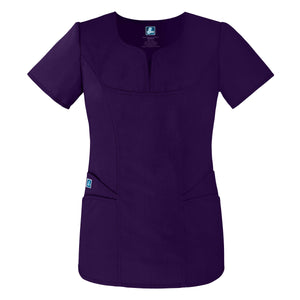 Curved Pocket Glamour Top