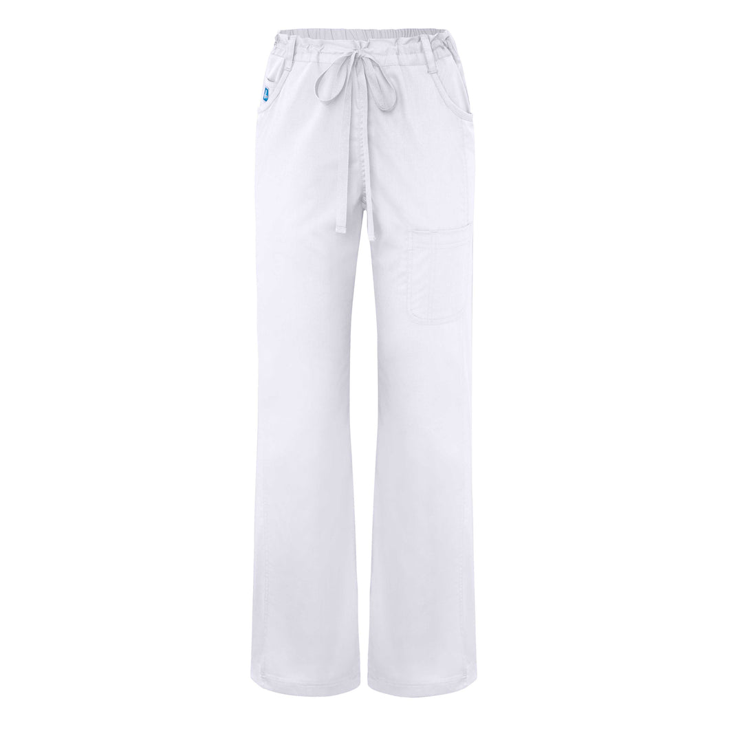 Mid Rise Straight Leg Multi Seam Pants