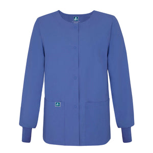 Round Neck Warm-Up Jacket
