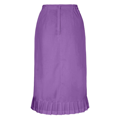 Pleat Flounce Skirt