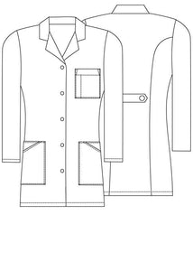 "36"" Women's Slim-Fit Lab Coat"