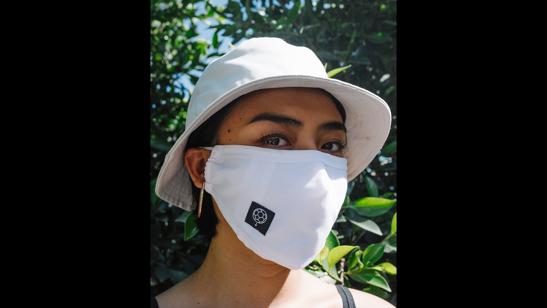 FACEMASK001 - WHITE