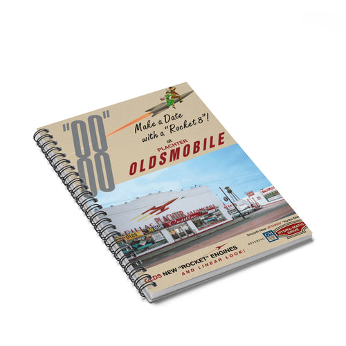 1959 Plachter Oldsmobile - Spiral Notebook - Ruled Line