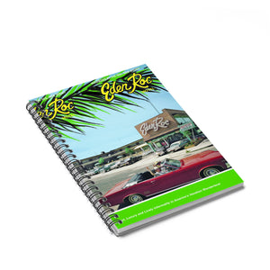 Eden Roc Motel, Wildwood, NJ 1960's Brochure on a Spiral Notebook - Ruled Line