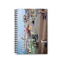 1960's Hunt's Pier Amusement Pier in Wildwood, NJ - Spiral Notebook - Ruled Line