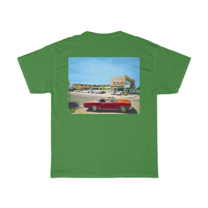 Eden Roc Motel, Retro 1960's Photograph, Wildwood, NJ - Unisex Heavy Cotton Tee