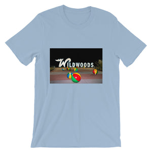Wildwood's Sign on the Boardwalk in Wildwood, NJ - Not Retro, Still Cool! - Short-Sleeve Unisex T-Shirt