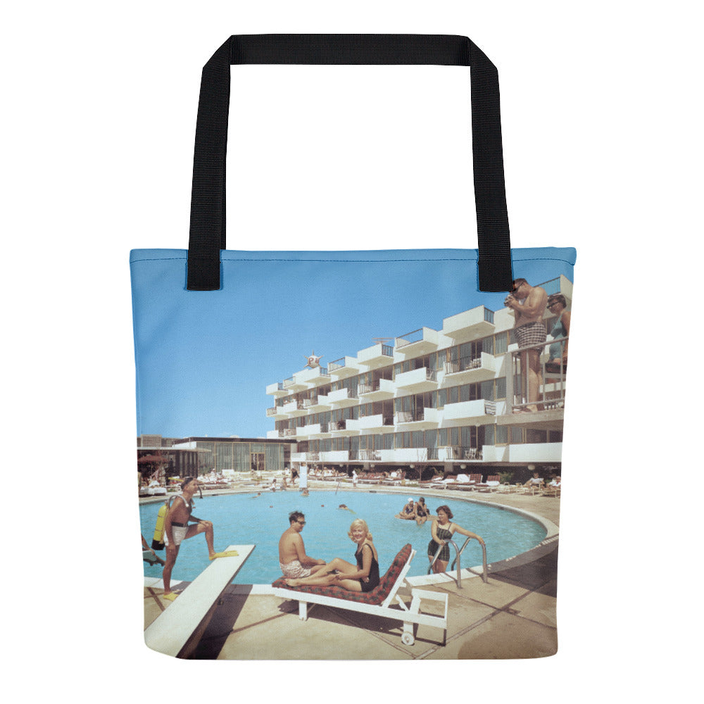Pan American Motel - 1967 Pool - Tote Bag