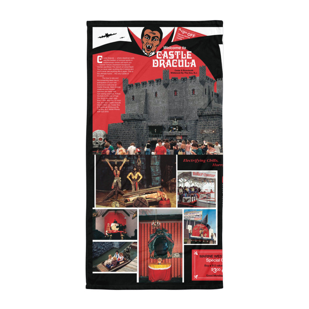 Castle Dracula, 1970's Brochure, Wildwood, NJ - Beach Blanket
