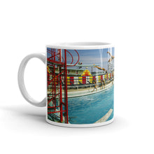 Aqua Circus Pool in the 1970's, Wildwood, NJ - Mug