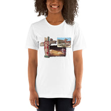 24th Street Motel Neon Signs of the 1960's, Wildwood, NJ - Short-Sleeve Unisex T-Shirt