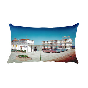 All Star Motel 1960's Wildwood, NJ - Rectangular Pillow