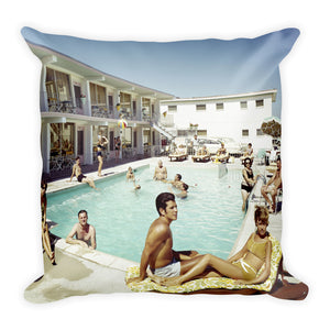Bonito Motel, Wildwood, NJ - Square Pillow