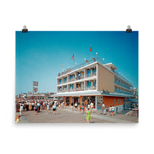 Shore Plaza, 1960's Wildwood, NJ - Poster