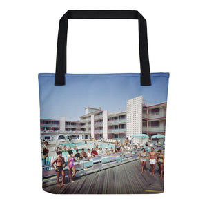 Bahama Motel 1960's Atlantic City, NJ - Tote Bag