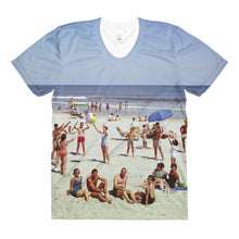 Wildwood NJ Beach 1960's - Women's Crew Neck T-Shirt