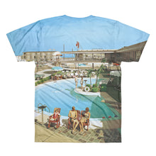 Caribbean Motel, 1960's Wildwood, NJ -  Men's Crewneck T-Shirt