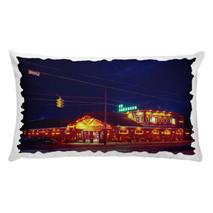 Ed Zaberer's Restaurant,  North Wildwood, NJ - 1960's - Premium Pillow