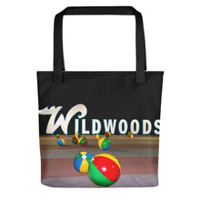 Wildwood's Sign on the Boardwalk in Wildwood, NJ - Not Retro, Still Cool! - Tote bag