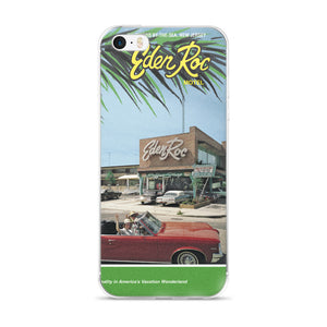 Eden Roc Motel, Wildwood, NJ 1960's Brochure Cover on a iPhone 5/5s/Se, 6/6s, 6/6s Plus Case