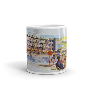 Pan American Motel 1960's Artwork - Mug