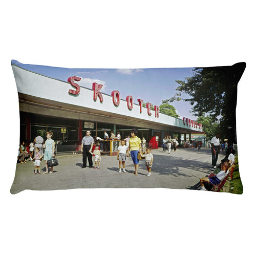 Willow Grove Amusement Park 1963 - Rectangular Pillow