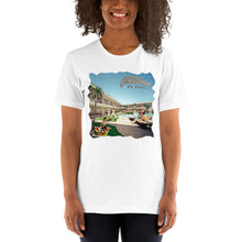 Caribbean Motel in the 1960's - Short-Sleeve Unisex T-Shirt