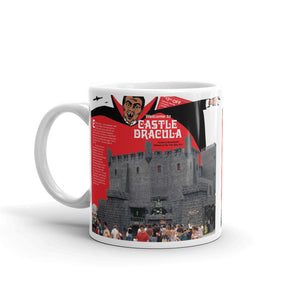 Castle Dracula 1970's Brochure Cover, Wildwood, NJ - Mug.