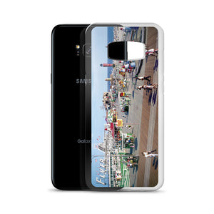Hunt's Pier in the 1960's, Wildwood NJ Boardwalk - Samsung Case
