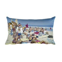 Surfing Contest 1960's, Virginia Beach, VA - Rectangular Pillow