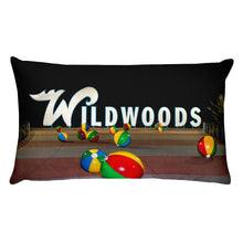 Wildwood's Sign on the Boardwalk in Wildwood, NJ - Not Retro, Still Cool! - Rectangular Pillow