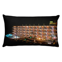 Royal Hawaiian Motel, Wildwood, NJ - 1960's Rectangular Pillow