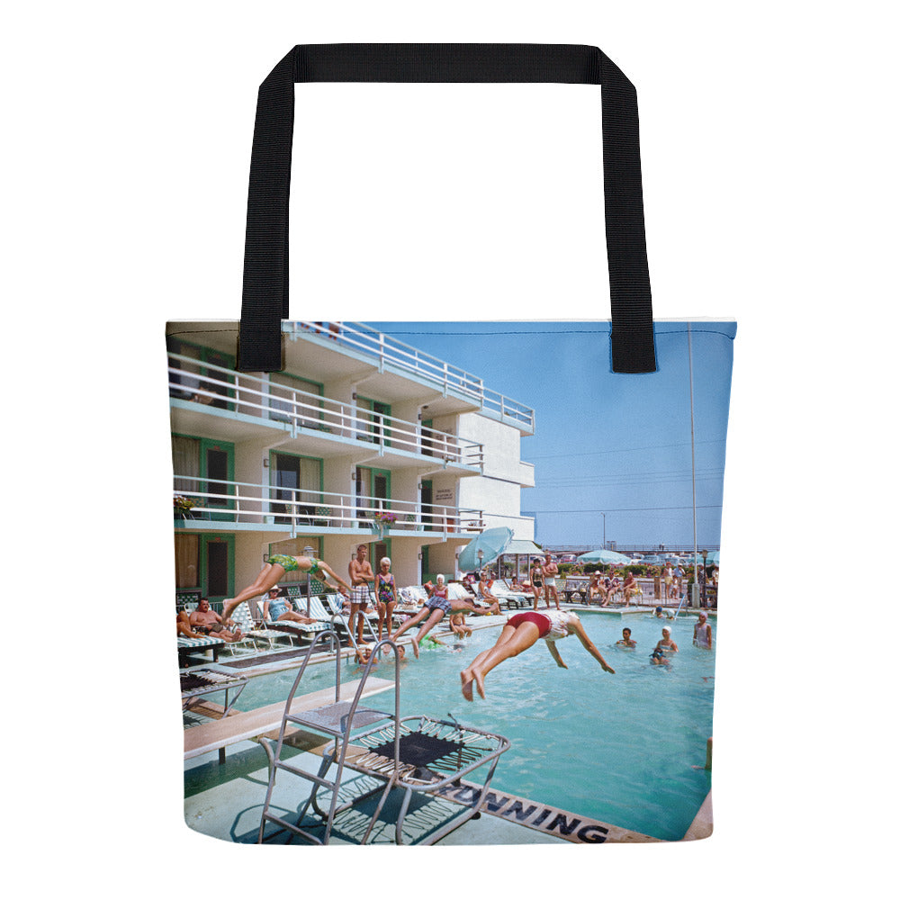 Rio Motel 1960's Postcard Picture, Wildwood, NJ - Tote Bag