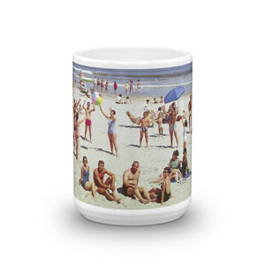 Wildwood Beach, 1960's Wildwood, NJ - Mug